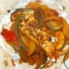 Rezept: Weizentortillas mit Hähnchenbrust und Gemüse