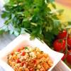 Rezept: Couscous-Salat mit Paprika-Dressing