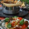Rezept: Vegetarische One Pot Pizza mit saisonalem Gemüse und Pilzen