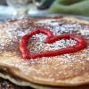 Rezept: Gesunde Pfannkuchen/Eierkuchen ohne Zucker und Mehl und mit nur 2 Zutaten