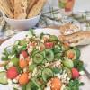 Sommerfest: Melonensalat mit Rucola und Feta und gefüllte Brotstangen von Anita von olles Himmelsglitzerdings (Gastbeitrag)
