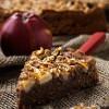 Rezept: Schokoladenkuchen mit Äpfeln und Walnüssen