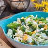 Rezept: Leichter Nudelsalat mit Joghurtdressing und Fetakäse