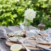 Unsere Grillparty: Gegrillter Lachs in Joghurt-Kräuter-Marinade