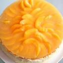Rezept: Schnelle Pfirsich-Maracuja-Torte