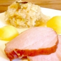 Rezept: Kasseler mit Ananas-Sauerkraut
