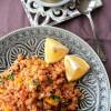 Rezept: Couscoussalat mit Kichererbsen und Feta