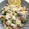 Rezept: Sommerliche Brokkoli-Pasta mit Zitronensoße und Parmesan