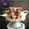 Rezept: Gesunder Pflaumenkuchen ohne Weizenmehl und Zucker