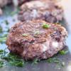 Rezept: Vegetarische Kidneybohnen-Feta-Frikadellen