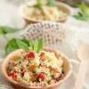 Salatglück-Freitag: Veganer Couscous-Salat mit gegrillter Paprika