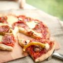 Rezept: Süchtig machender Pizzateig ohne Hefe aus nur zwei Zutaten
