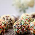 Rezept: Zartschmelzende Erdnussbutter-Schokoladen-Trüffel-Pralinen
