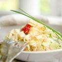 Salatglück-Freitag: Gemischter Sommersalat mit Buttermilchdressing
