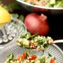 Salatglück-Freitag und Produktest: klassisches Tabouleh und meine neuen Messer von Kyocera