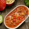 Rezept: Seelenschmeichler Gulasch mit Paprika und selbstgemachten Eierspätzle