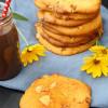 Rezept: Exotische Kürbis-Cookies mit Aprikosen, Kokos und weißer Schokolade