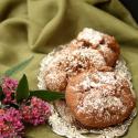 Rezept: Weihnachtliche Schoko-Bratapfel-Cookies mit Zimt, Marzipan und Walnüssen