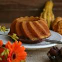 Rezept: Gesunder herbstlicher Kürbis-Marmor-Gugel ohne Weizen, Haushaltszucker und Fett
