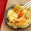 Salatglück-Freitag: Feuriger Spaghetti-Salat mit Kürbis, Möhren und Curry-Chili-Dressing