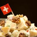Salatglück-Freitag: fruchtig- scharfer Käsesalat mit Schweizer Appenzeller-Käse