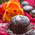 Rezept: Blitzschnelle, vegane Mini-Schokomuffins mit Wasser