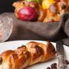 Rezept: Hefezopfbrötchen mit Rosinen und Mandeln für den Osterbrunch