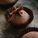 Rezept: Dunkelschokoladiges Schokoladeneis