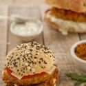 Zweierlei Veggie-Burger für #hilconahinundveg (Werbung)