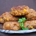 Sommerfest: Vegane Reisbällchen mit Curry und Mais