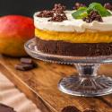 Rezepte: Mango-Schokoladen-Pumpernickel-Torte ohne Backen und Pumpernickel-Burger