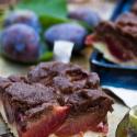 Rezept: Pflaumenkuchen mit Streuseln und Hefeteig