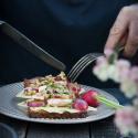 Rezept: Smørrebrød - belegte Brote mit Mestemacher Bio Vollwert-Brot
