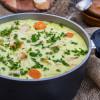 Rezept: Hühnersuppe mit Nudeln, Gemüse und Curry