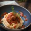 Rezept: Tomatensoße mit Fleischbällchen