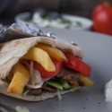 Rezept: Pita selber machen mit Weizen Pita von Mestemacher