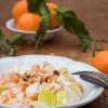 Rezept: Chicoréesalat mit Mandarinen und gerösteten Mandeln