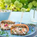 Rezepte: Schnelle Snacks mit Veggie-Vollkorn Brot von Mestemacher