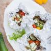 Grillen vegetarisch: Gemüse-Halloumi-Päckchen vom Grill