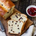 #Mädchenbäckerei: Saftiges Rosinenbrot