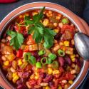 Chili sin Carne - Mein Rezept für veganes Chili