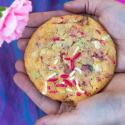 Cookies Rezept: butterweiche Cookies mit bunten Streuseln