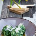 Buchverlosung und Rezept: Spinat-Knödel mit Käse