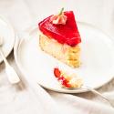Erdbeer-Torte mit Ricottaboden