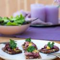 Neue Brotzeit-Ideen mit Trauben Nuss Brot von Mestemacher