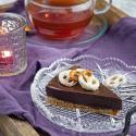 Schokoladentarte mit Salzbrezelboden zur Teestunde mit SariTee von FRUTEG