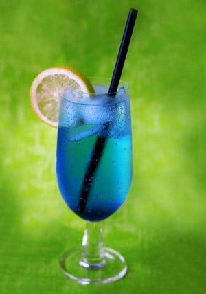 Rezept: Blue Lagoon Cocktail