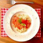 Minimalistische Tomatensoße