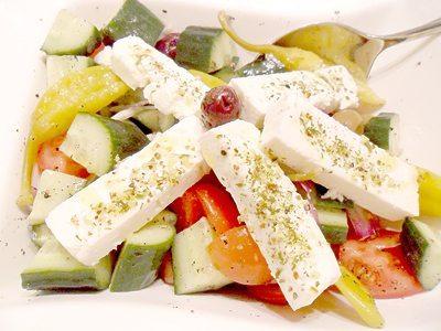 Rezept: Griechischer Bauernsalat