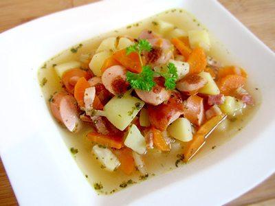 Rezept: Kartoffelsuppe